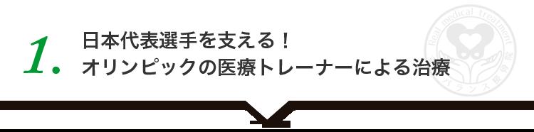 日本代表選手を支える!オリンピックの医療トレーナーによる治療